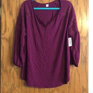 Old Navy bohemian blouse